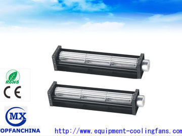 China Industrial Ball Bearing Cross Flow Fans , Aluminum 12V 24V DC Axial Fan factory