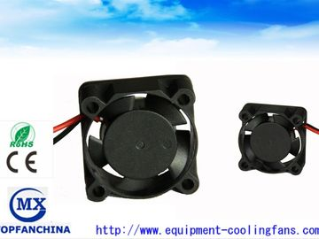 China Low Noise 1 Inch Small Plastic DC Axial Fans With Terminal / Lead Wire factory