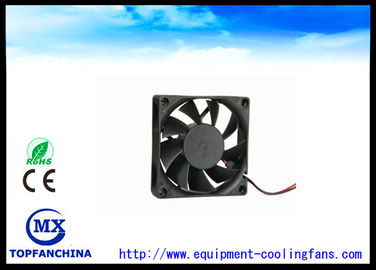 China High speed 0.21 inch Dc Brushless Fan 12v CE ROHS 70mm X 70mm X 15mm factory