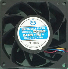 China 80 X 38Mm dc cooler axial 24V brushless cooling fan electronic components factory