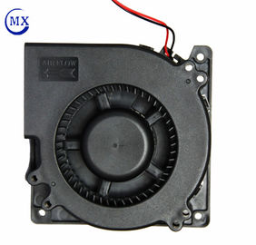 China 24 V Motor 4.68 Inch Dc Blower Fan , High Speed Exhaust Blower Air Cooling factory