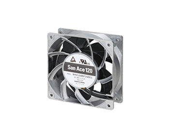 China High Speed Computer Case Cooling Fans Axial 12038 24V Ball Bearing Aluminum Frame distributor