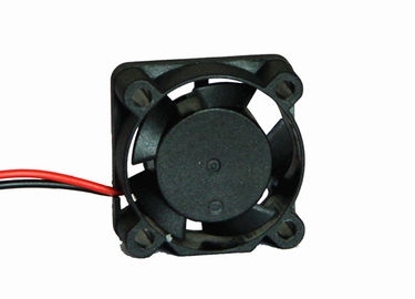 China 12V 25mm Mini Axial Fan Ball Bearing 8000RPM Speed With Platics Impeller factory