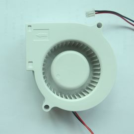 China White Plastic DC Blower Fan 12V Waterproof Ip68 Low Noise Sleeve / Ball Bearing distributor