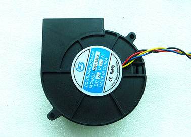 China IP58 12 Volt Blower Fan , 7.2W DC Motor Fan 4500RPM Ball Bearing 30CFM Air Flow factory