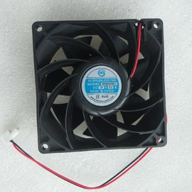 China High Speed Small Electronics Cooling Fans DC 12v 24v Air Cooler PBT Frame distributor