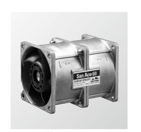 China Ball Bearing DC Counter Rotating Fan 60x60x76mm 40000 Hours Expected Life San Ace distributor
