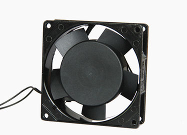 China Cooling AC DC Axial Fans 2800rpm 34 CFM Air Flow Ball Bearing Metal Frame factory