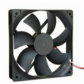China 12 Volt DC Exhaust Equipment Cooling Fans 3500RPM 120*120*25mm With Low Noise factory