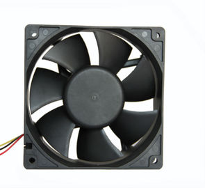 "China 5"" DC Electronics Cooling Fans 12 Volt PC Custom Plastic For Computer Cooling factory"