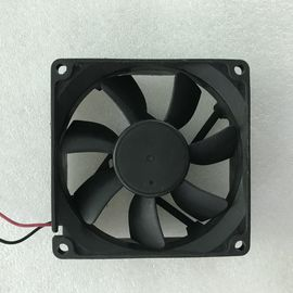 China Small Ball Bearing DC Axial Fans 12v Brushless Motor 4000 RMP Speed 80 X 80 X 20mm distributor