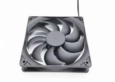 China 12025 Dc Brushless Cooling Fan 25mm Thickness 3000RPM 12V 4.8-16W With Low Noise distributor