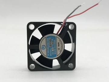 China Mini Smart Computer Cpu Fan 8000RPM Speed 5V / 12V DC PBT Frame Impeller Material factory
