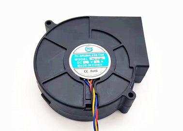 China Shenzhen 24V High Pressure Cooling Fan Blower 3500RPM Speed NMB Bearing dc fan factory